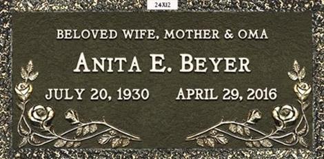 Anita E. Beyer