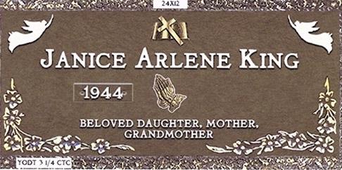 Janice Arlene King